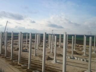 Faza 2 – postavljanje stubova